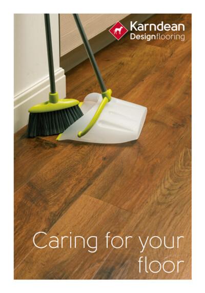 karndean floor cleaning guide