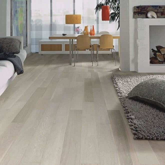 Furlong classic oak whitened - Laminate Flooring