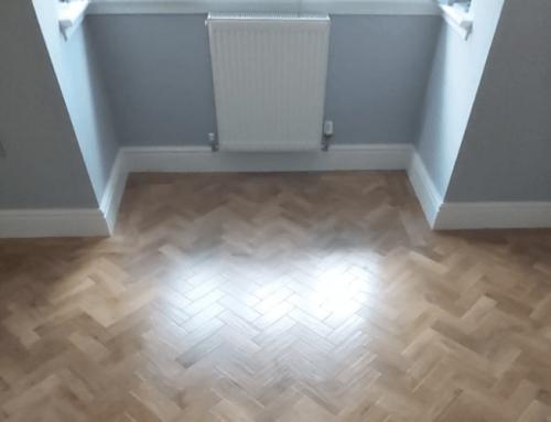 Mr & Mrs Wolfendale karndean Herringbone Flooring